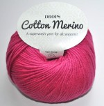DROPS Cotton Merino - 14 cerise