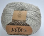 DROPS Andes - 9020 light grey