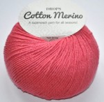 DROPS Cotton Merino - 13 coral