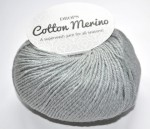 DROPS Cotton Merino - 20 light grey