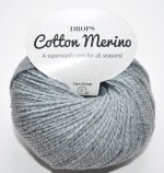 DROPS Cotton Merino - 18 medium grey