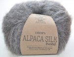 DROPS Brushed Alpaca Silk - 03 grey
