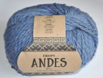 DROPS Andes - 6343 twilight blue