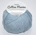 DROPS Cotton Merino - 09 ice blue
