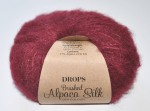 DROPS Brushed Alpaca Silk - 23 bordeaux