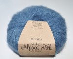 DROPS Brushed Alpaca Silk - 25 steel blue