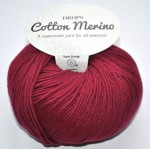 DROPS Cotton Merino - 07 bordeaux