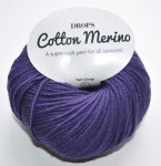 DROPS Cotton Merino - 27 violet