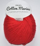 DROPS Cotton Merino - 06 red