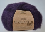 DROPS Brushed Alpaca Silk - 10 violet
