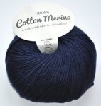 DROPS Cotton Merino - 08 navy