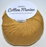 DROPS Cotton Merino - 15 mustard