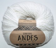 DROPS Andes - 1101 white