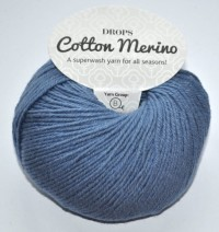 DROPS Cotton Merino - 16 jeans blue