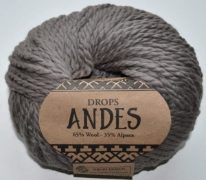 DROPS Andes - 5310 light brown