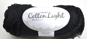 DROPS Cotton Light - 20 black