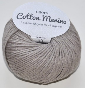 DROPS Cotton Merino - 03 beige