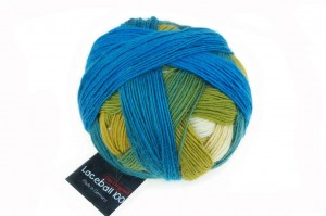 Lace Ball 100 - 2309 Blue Lagune