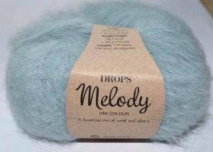 DROPS Melody - 09 light sea green