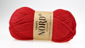 DROPS Nord - 14 red