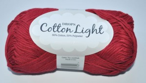 DROPS Cotton Light - 17 dark red