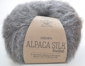 DROPS  Alpaca Silk - 03 grey