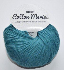 DROPS Cotton Merino - 26 storm blue