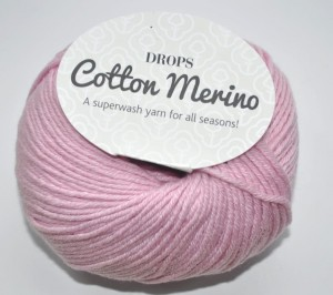 DROPS Cotton Merino - 05 powder pink