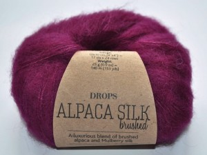 DROPS  Alpaca Silk - 09 purple