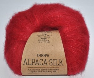 DROPS  Alpaca Silk - 07 red