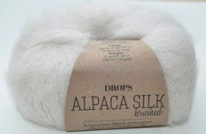 DROPS  Alpaca Silk - 01 off white
