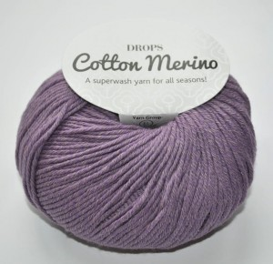 DROPS Cotton Merino - 23 lavender
