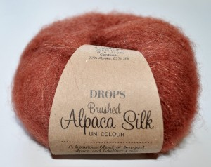 DROPS Brushed Alpaca Silk - 24 rust