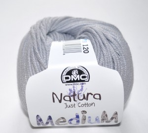 DMC Natura Medium - 120 szary
