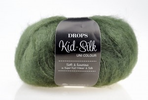 DROPS Kid-Silk - 19 dark green