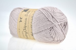 DROPS Baby Alpaca Silk - 1760 light gray purple