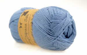 DROPS Baby Alpaca Silk - 6235 grey blue