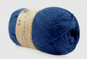 DROPS Baby Alpaca Silk - 6935 navy blue