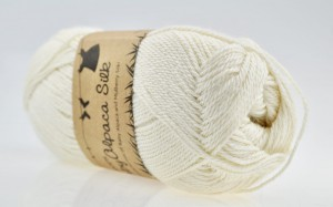 DROPS Baby Alpaca Silk - 100 off white