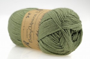DROPS Baby Alpaca Silk - 7820 green