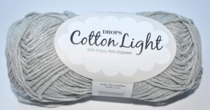 DROPS Cotton Light - 31 pearl grey