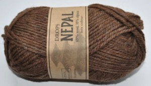 DROPS Nepal - 612 medium brown