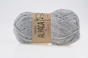 DROPS Alpaca - 0501 eco grey light