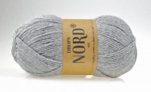 DROPS Nord - 04 light grey - szary