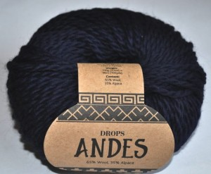 DROPS Andes - 6990 navy blue