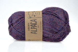 DROPS Alpaca - 6736 navy/purple mix